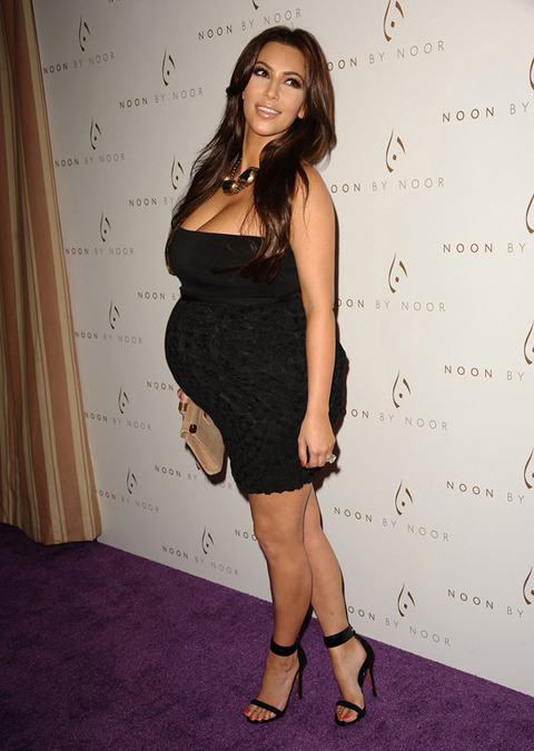 ким кардашьян беременная фото 2013